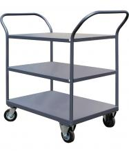 Platform shelf trolleys